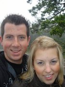 TYLER FRIESEN WITH HIS WIFE TO BE, COLLEEN - 2007
