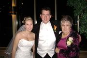OCTOBER 25, 2008 -- TYLER & COLLEEN FRIESEN'S WEDDING PICS. BRIDE, COLLEEN, GROOM, TYLER & GMA