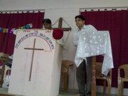 Guest speaker Pastor Ramteke