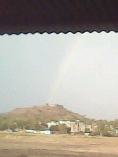 Rainbow view from my window- DehuRoad