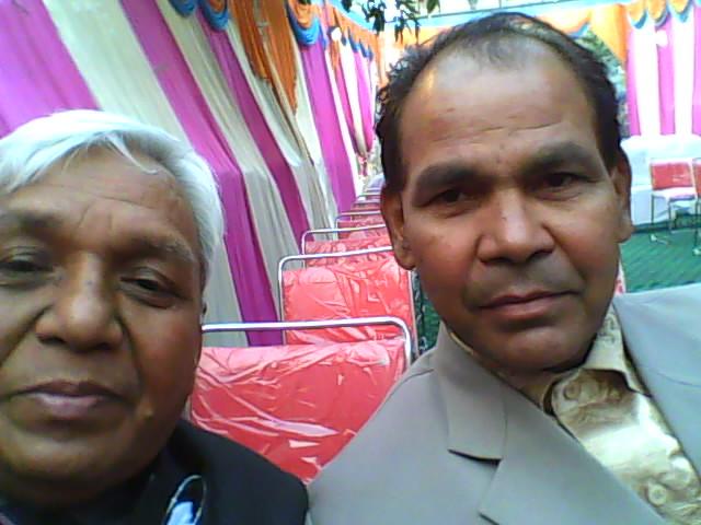 I am with Rev. Newton John at New Delhi