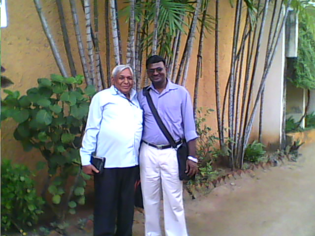 I am with Rev. Paul Sigamani at Chennai