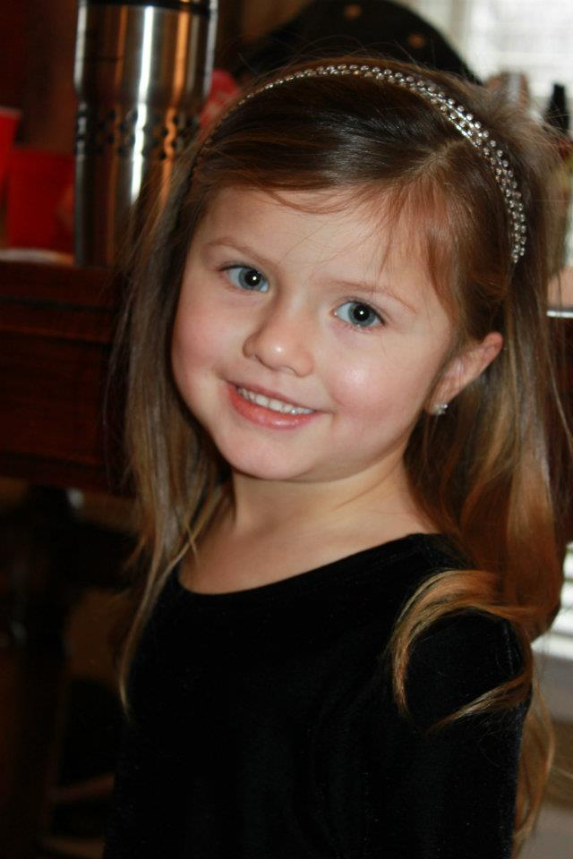 My precious granddaughter