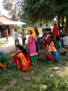 Nepali villagers listing gospel.2