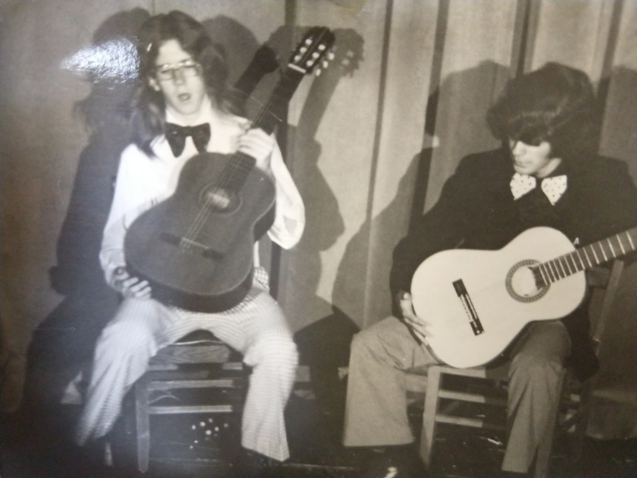Tim and Oz....1974