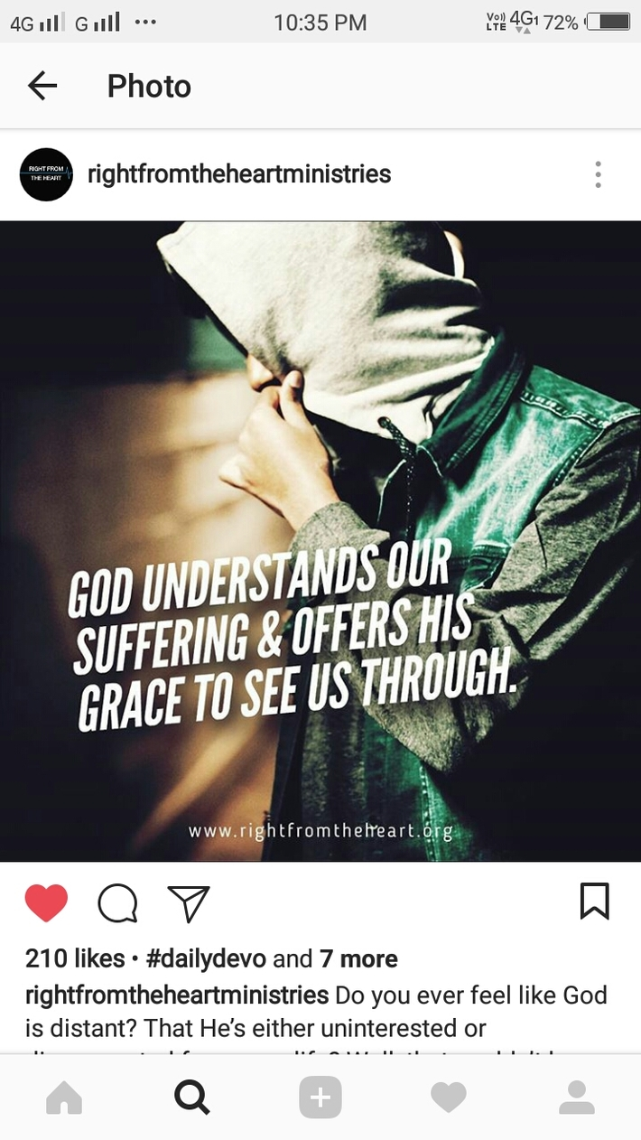 God loves us so much.