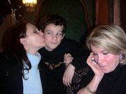 My mum, my brother and me