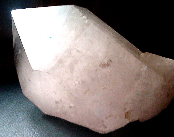Large quartz crystal