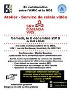 Atelier - Service de relais vidéo - SRV CANADA VRS