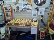 St. Georges Day Cigar Box Display