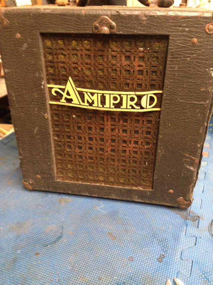 Amp speaker project