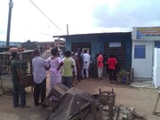 Accreditation at PU: 24/10/08/053 Agbado road, block bus stop. Pix-Biodun