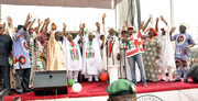 PDP PRESIDENTAL CAMPAIGN FLAGS OFF IN LAGOS