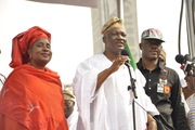 P D P PRESIDENTAL RALLY IN LAGOS 10