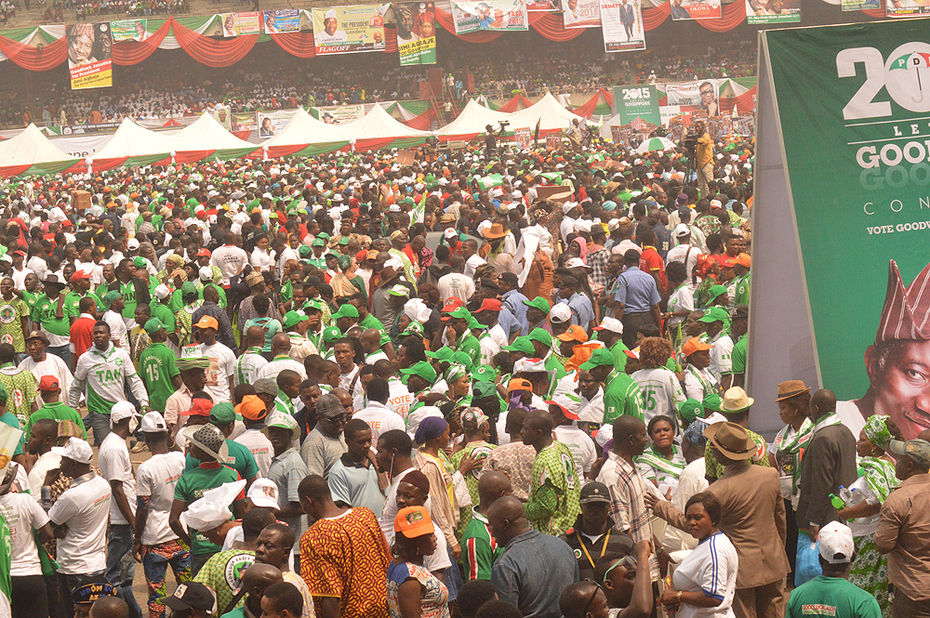 P D P PRESIDENTAL RALLY IN LAGOS 8