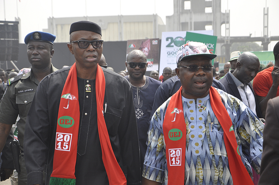 PDP PRESIDENTAL RALLY IN LAGOS 12