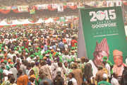 P D P PRESIDENTAL RALLY IN LAGOS 9