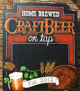 Craft Beer Chalkboard Sign