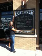 Lost River Pizza Chalkboard Menu Sign