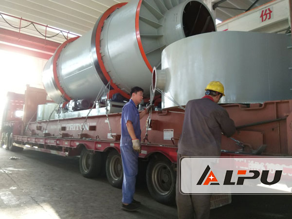 Rotary Dryer Exported to Dominica-Shanghai Lipu