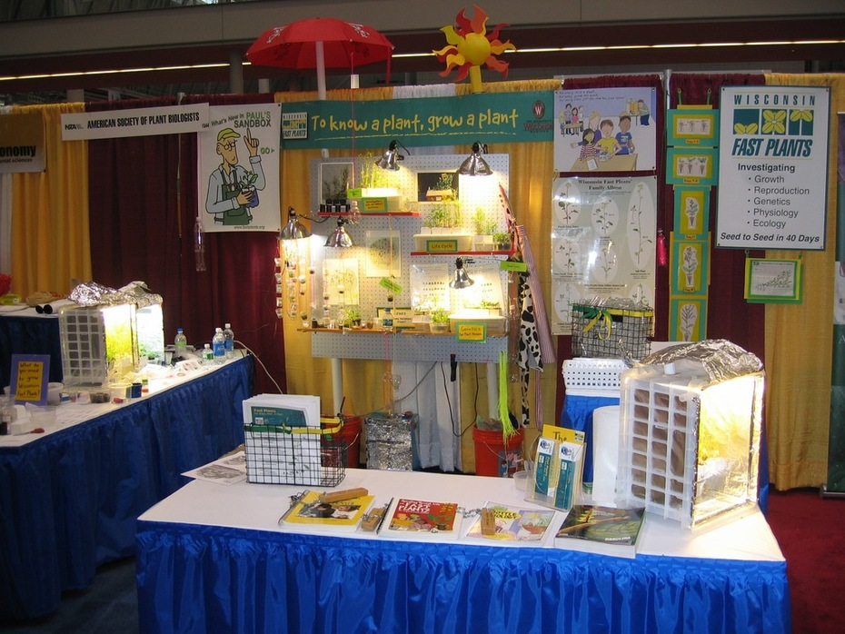 WFP booth: NSTA-2008