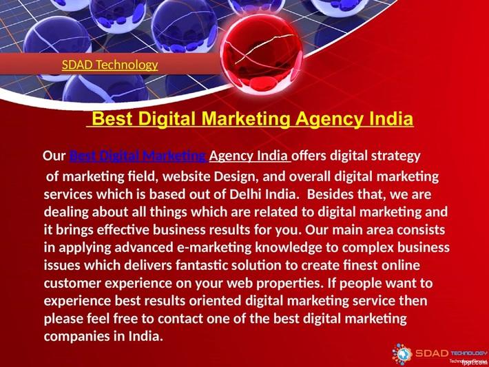 SDAD Technology -Best Digital Marketing Agency India