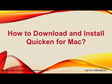 How to Install the Quicken For Mac?