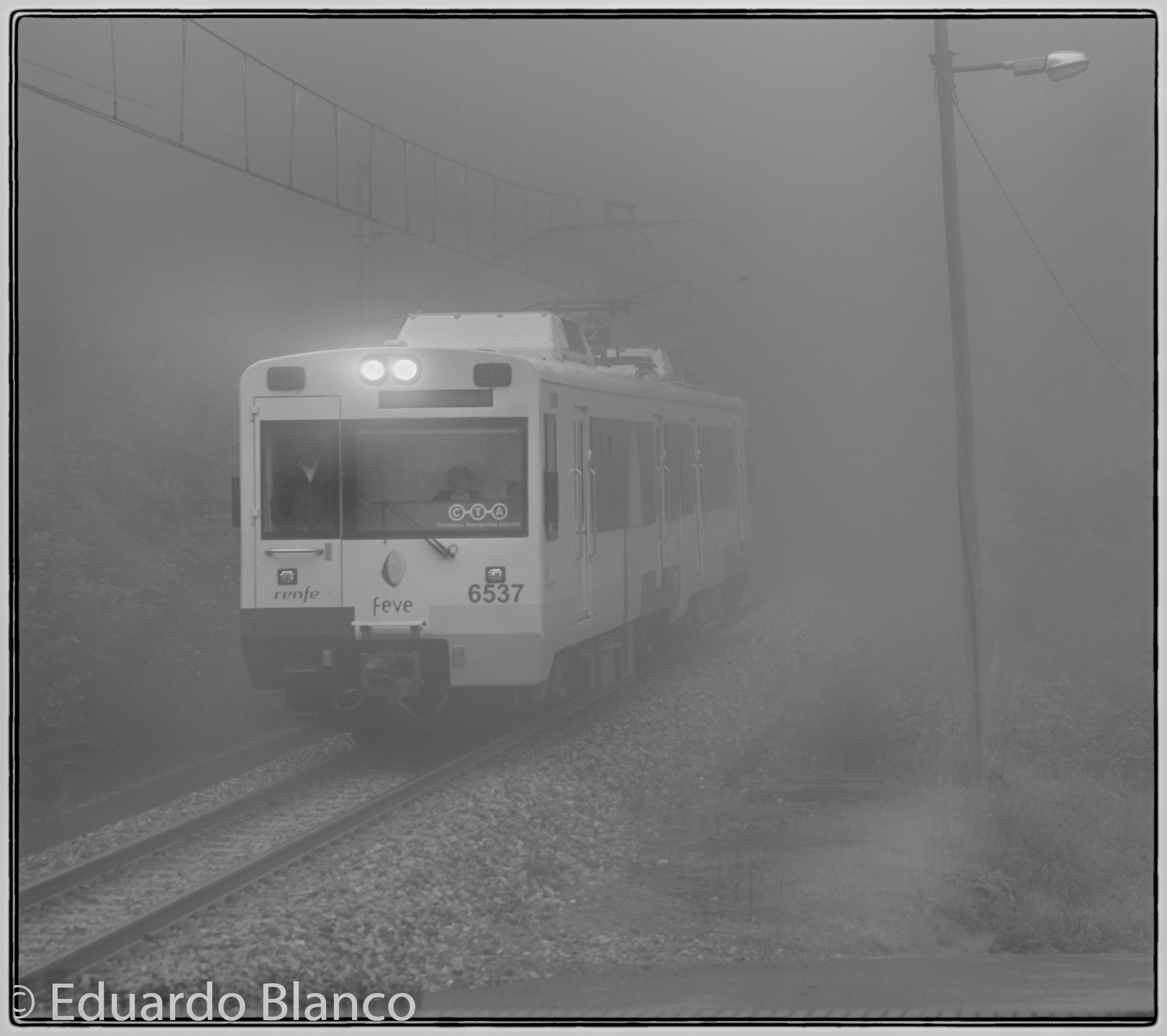 Viajar entre la niebla