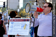 Stop Media Bias About Israel Rally