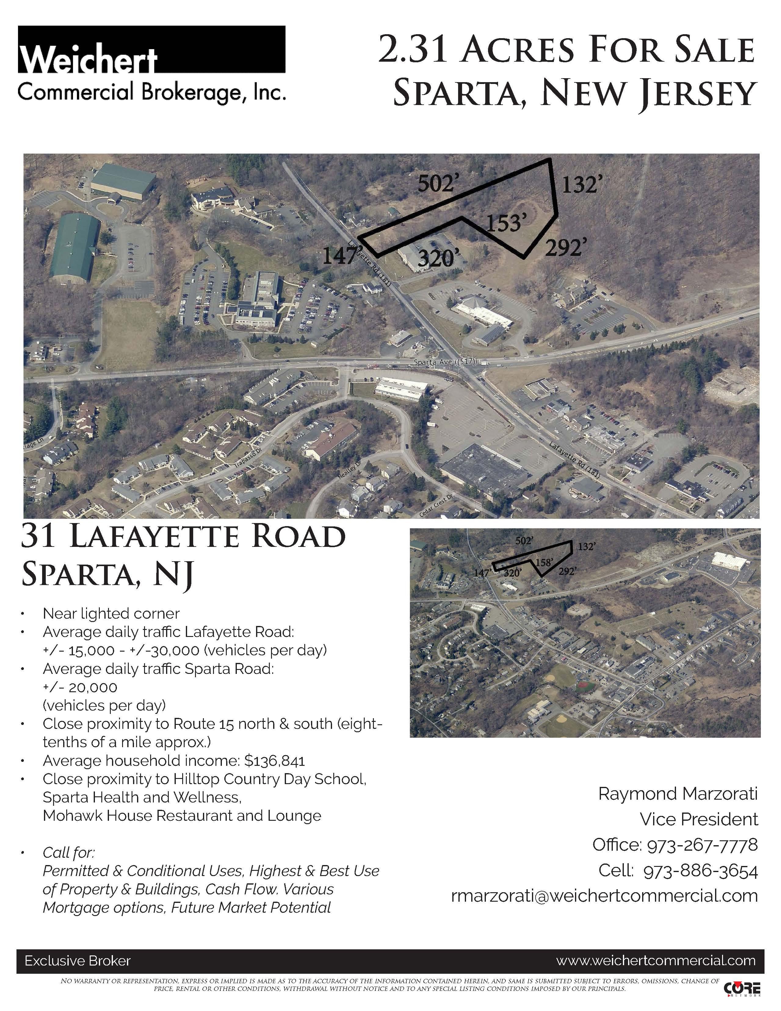 Current Marzorati- 31 Lafayette Rd, Sparta