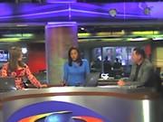 En Noticiero Caracol TV . Colombia