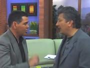 Con Hernan Orjuela Caracol TV . Colombia