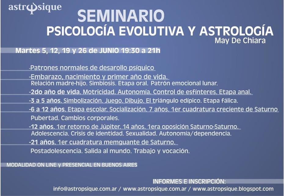 SEMINARIO PSICOLOGIA EVOLUTIVA Y ASTROLOGIA5_o