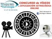 Concurso de Vídeos de Divulgación Astrológica