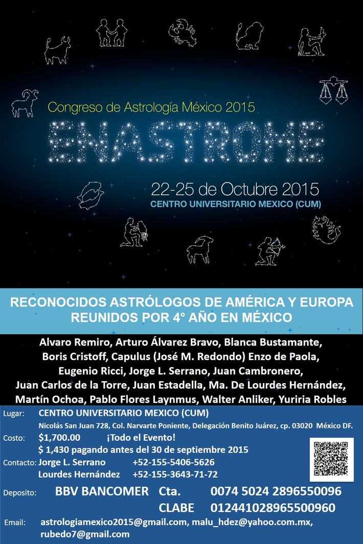 Congreso Astrologia'15 (1)