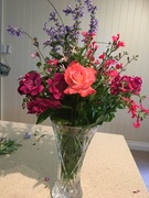 Pretty flowers from the garden