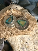 Abalone on silver