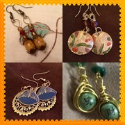 Collage of Earrings I