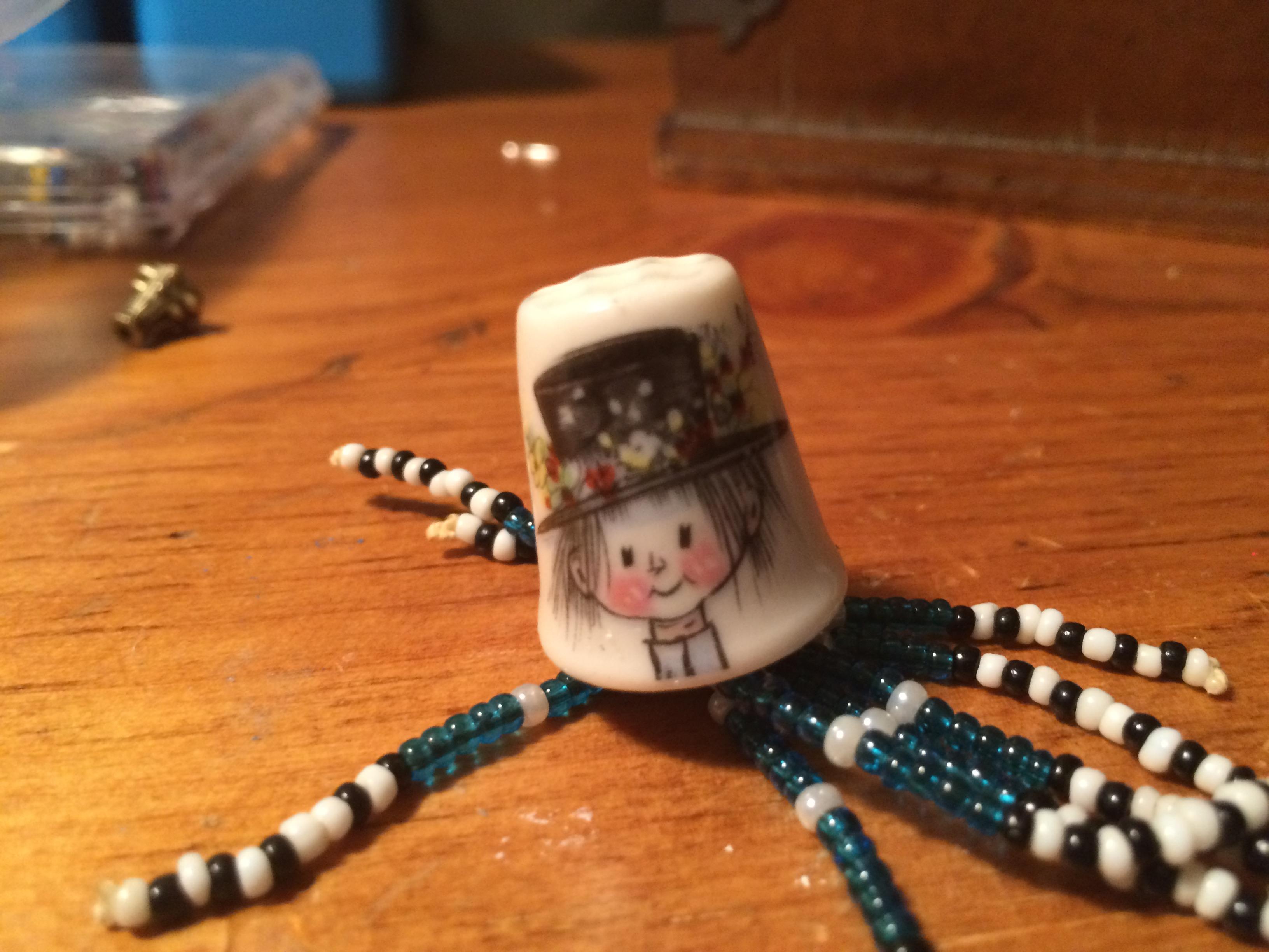 Orphan thimble Pin/Pendant