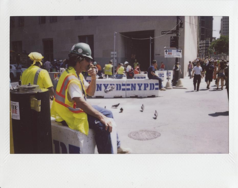 Daring Rest at Ground Zero