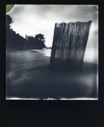 Pinhole Instant - Supersense 66-6  Impossible project film 600 BW