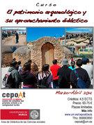 El Patrimonio Arqueológico y su aprovechamiento didáctico - Presencial.