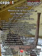 Historia de la navegación en el Mundo Antiguo y la arqueología subacuática - on line (01/05/2017 - 31/07/2017)