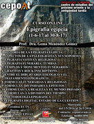 Epigrafía Egipcia - on line (1-6-17 al 31-8-17)