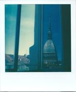 First view of a morning in Turin