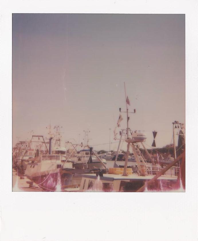 My first Polaroid shoot