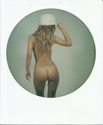 Naked with hat
