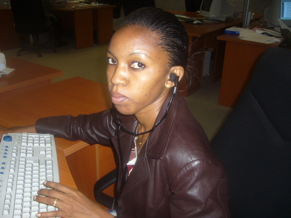 In the office Midrand