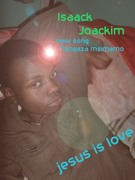 isaack joackim gospel singer and graphics designer