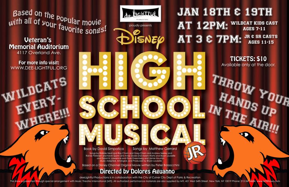 Dee-Lightful Productions presents High School Musical